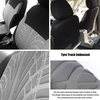 4/9PCS/Set Seat Car Covers Universal Interior Accessories For Cars Truck Detachable Headrests Bench Seat Covers For Women Auto