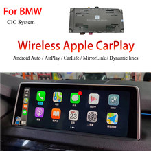 Android Auto Wireless Carplay Adapter For BMW X3 (F25) 2012 with CIC Premium Car Camera Video Interface(China)