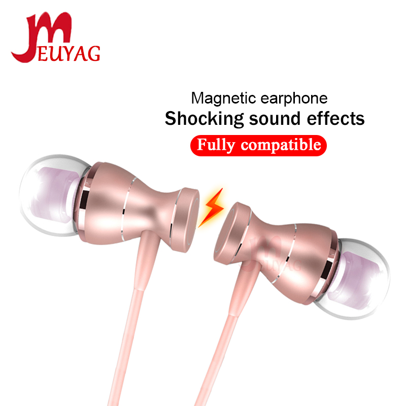 MEUYAG 3.5mm Wired Earphone Stereo In-Ear Headphones Sport Running Earbuds Headset With Mic For IPhone Samsung Xiaomi
