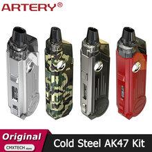 Artery-Kit de vaporizador AK47 de acero frío, Original, 4ML, batería de 1500mAh, 50W, NP XP, HPVersion para MTL, DTL, cigarrillo electrónico