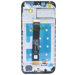 Image 5 - Оригинальный ЖК дисплей для Huawei Y6 2019/ Y6 Pro 2019/ Y6 Prime 2019, сенсорный экран с дигитайзером и рамкой, ЖК дисплей, сенсорные детали