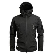 Army Camouflage Coat Military Jacket Waterproof Windbreaker Raincoat Hunting Clothes Army Jacket Men Outdoor Jackets And Coats