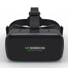 VR SHINECON Helmet VR Virtual Reality 3D Glasses Box Movie Games For IOS Android Smartphone Goggles Video Game Viar Binoculars