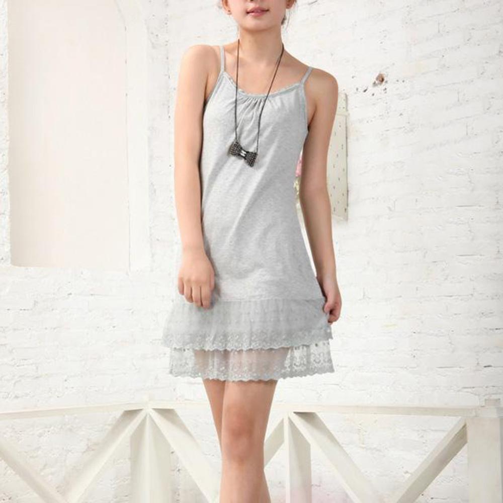 Women Maternity Sleepwear Summer Dress Female Lace Sexy Chemise Tunic Cotton Plus Size 3XL   Nightgown   Chemise   Sleepshirts