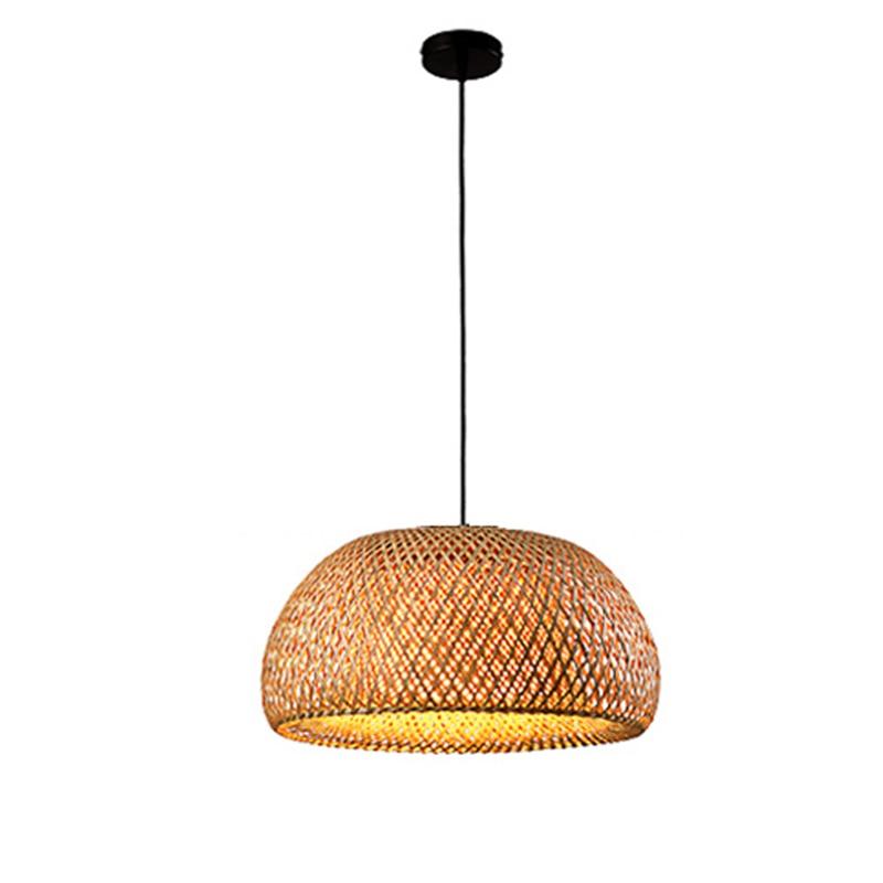 Bamboo Pendant Light Lamparas, Bamboo Lamp Bamboo Hanging Lampshade Pendant Light,Art Deco Chinese Lantern Rattan Chandelier