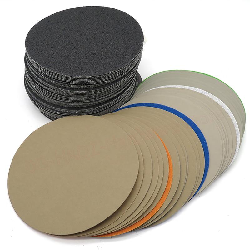 Flocking Disc Wet And Dry Sandpaper 400 800 1500 2000 2500 3000 5000 7000 10000 Grit 3