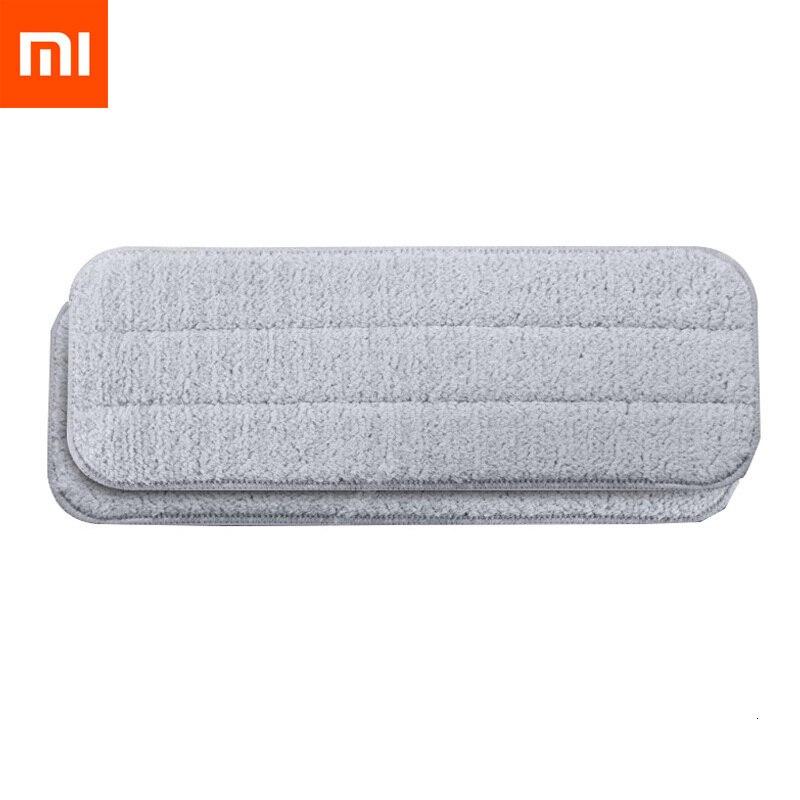 Xiaomi Mijia Deerma Replace Mop for Mi Mijia Water Spray Mop 360 Rotating Cleaning Cloth Head Wooden Carbon Fiber Cloth H20 (5)