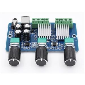 Image 2 - XH A355 Yamaha Stereo a 2.1 canali Audio Digitale amplificatore di potenza bordo Basso subwoofer AMP 10WX2 + 20W home theater