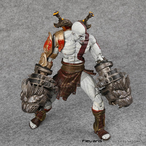 Image 4 - NECA 전쟁의 신 3 스파르타 kratos의 유령 PVC 액션 피규어 소장 모델 장난감