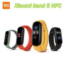 Xiaomi – Bracelet connecté Mi Band 5, NFC, écran AMOLED couleur 1.1