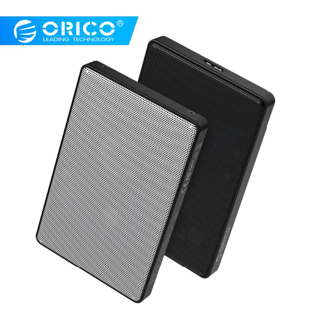 ORICO 2.5 Inch HDD Case SATA To USB 3.0 HDD SSD Case For Samsung Seagate SSD 2TB 4TB Hard Disk Drive Box External HDD Enclosure