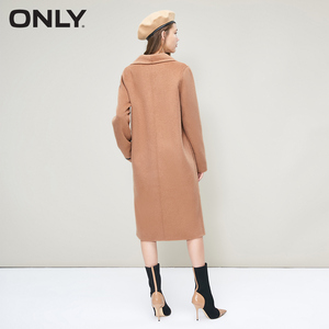 Image 3 - ONLY 2018 Womens Winter Long Double faced Woolen Coat