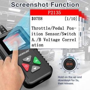 Image 5 - KINGBOLEN YA101 Code Reader OBDII/EOBD YA 101 Auto Diagnostic Tool Graph Datastream OBD2 Real 16Pin DIY Scanner CR3001