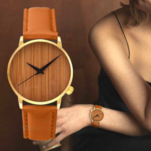 Casual Fashion Watches Wooden Watch Men's And Women Wristwatches Female Bamboo Watch Girls Bracelets Simulated Wristlet Relojes(China)