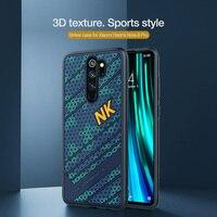 Für Xiaomi Redmi Hinweis Note 8 pro Fall NILLKIN Sturm Fall 3D Textur TPU Silikon Weichheit Zurück Abdeckung Für Xiaomi Redmi hinweis Note 8 pro