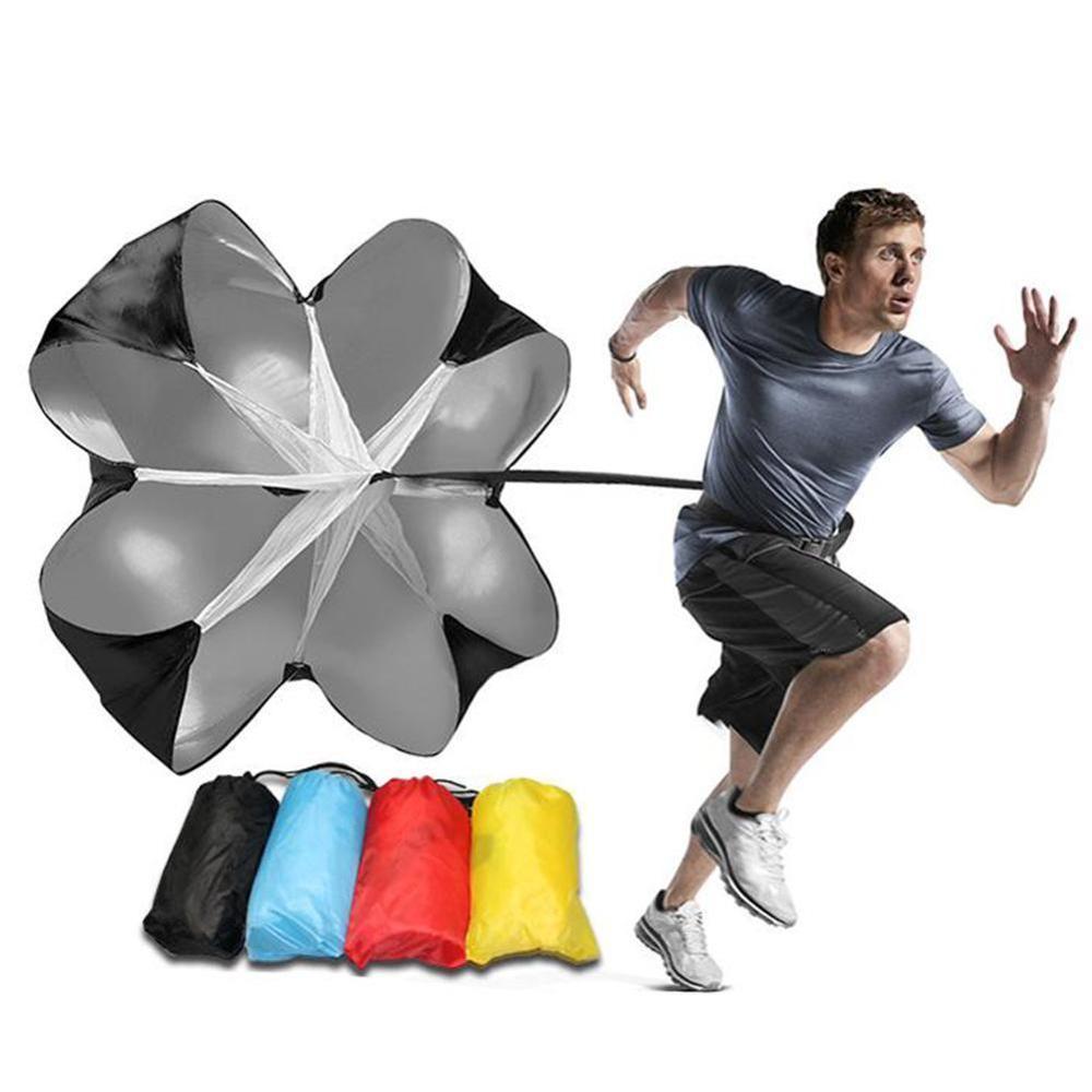Soccer Speed Parachute Strength Training Umbrella Soccer Basketball Running Exerciser Resistance Bands Drag Parachutes