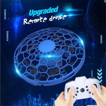 CZ996 Mini Flying Helicopter UFO RC Drone Hand Sensing Aircraft Electronic Model Helicopter Flayaball Toys Small Drone In Stock