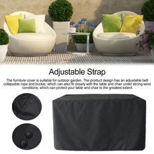 Чехол на стол для патио, Пылезащитный Водонепроницаемый квадратный Чехол для мебели для улицы, сада, двора