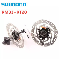 SHIMANO RM33 + RT20 160mm Hub & Rotor 8 9 10 SPEED MTB Mountain Bike Center Lock 32 Hole Bead Disc Brake Bicycle Cycle Hub