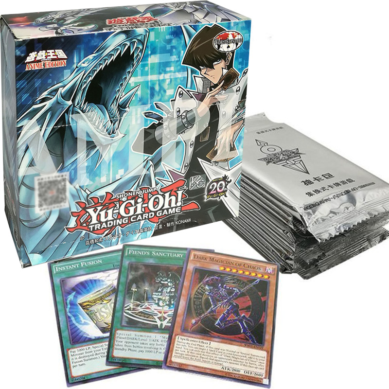 240pcs/set Yu Gi Oh Cards Yu Gi Oh Anime Game Collection Cards Toys For Boys Girls Brinquedo