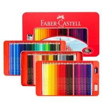 Faber castell óleo clássico colorido lápis conjunto de estanho 100 cores vibrantes arte desenho para crianças adulto colorir livros esboçar pintura