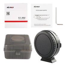 Ef-m2 Adapter Ring Canon Lens To M43 Panasonic Gh5 Olympus Camera цена и фото