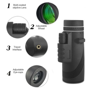 Image 3 - 50x60 Telescope Zoom Lens Monocular Mobile Phone Camera Lens For Digital Camera Mobile Phone Outdoor Camping Hunting Sports Tool