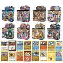 324Pcs Pokemon TCG: Sun & Moon Unbroken Bonds Booster Box Trading Card Game Card Kids Toys Pokemon Team Up Burning Shadows
