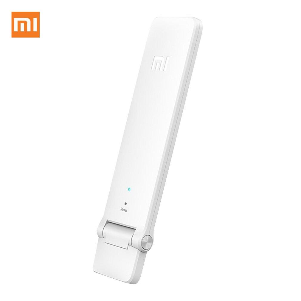 Xiaomi WIFI répéteur 2 amplificateur Extender 2 universel Repitidor Wi-Fi Extender 300 Mbps extension de Signal amélioration sans fil