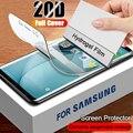 Гидрогелевая пленка 9H для Samsung Galaxy A3 A5 A7 2016 2017, защита экрана, Противоударная пленка для Note 3 4 5, защитная пленка