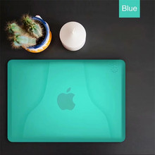 Portable Laptop Case for Apple Macbook Air 13.3 13.3inch A1932 2018 Solid Transparent Case Full Cover