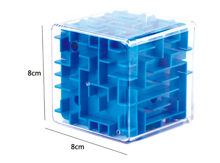 New 3D Stereo Toy Labyrinth Cube Children Adult Puzzle Intelligence Educational Toys Good Gift For Your Child Statues