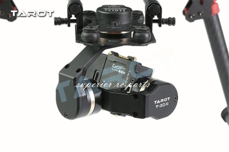 T4 3D からタロット TL3T01 更新 3D 金属 3 軸ブラシレスジンバル移動プロ GOPRO4/GOpro3 +/Gopro3 fpv 写真  グループ上の おもちゃ & ホビー からの パーツ & アクセサリー の中 3