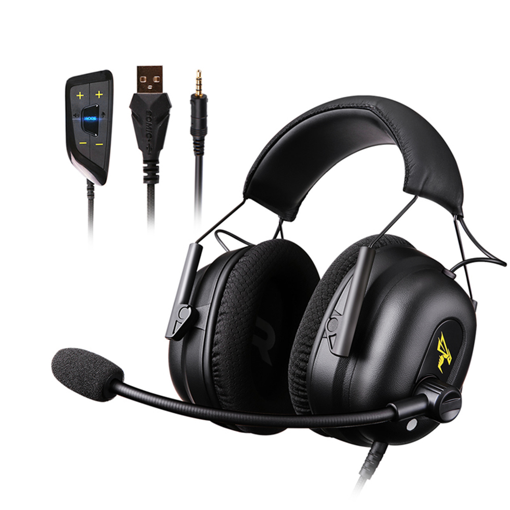 Somic G936N 3.5mm USB Gaming Headphone 7.1 Surround Sound Wired Over Ear Headset for Computer PC Gamer with Microphone|Headphone/Headset| - AliExpress