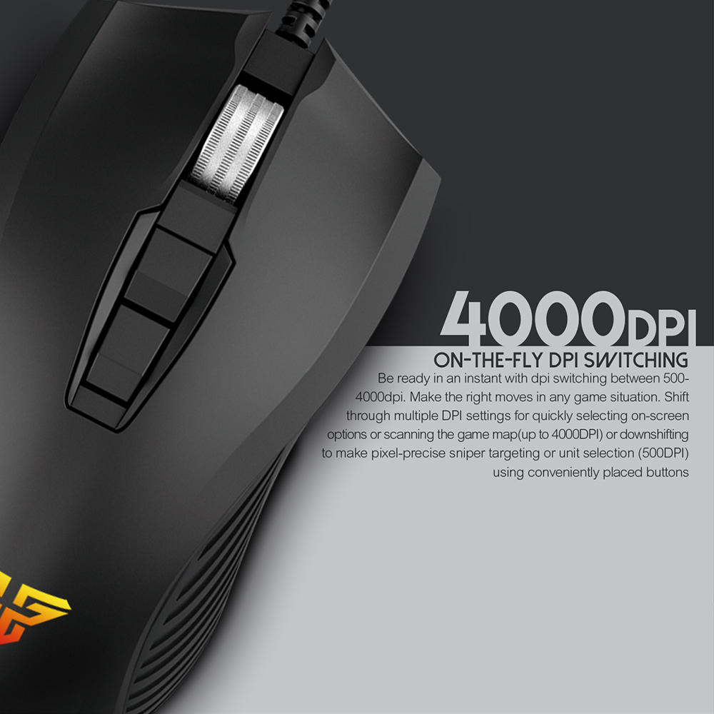 Image 3 - FANTECH X14 Optical Adjustable 4800 DPI 7D Macro Professional Wired Gaming Mouse For Mouse Gamer Essential Ergonomic Mouse Mice-in Mice from Computer & Office