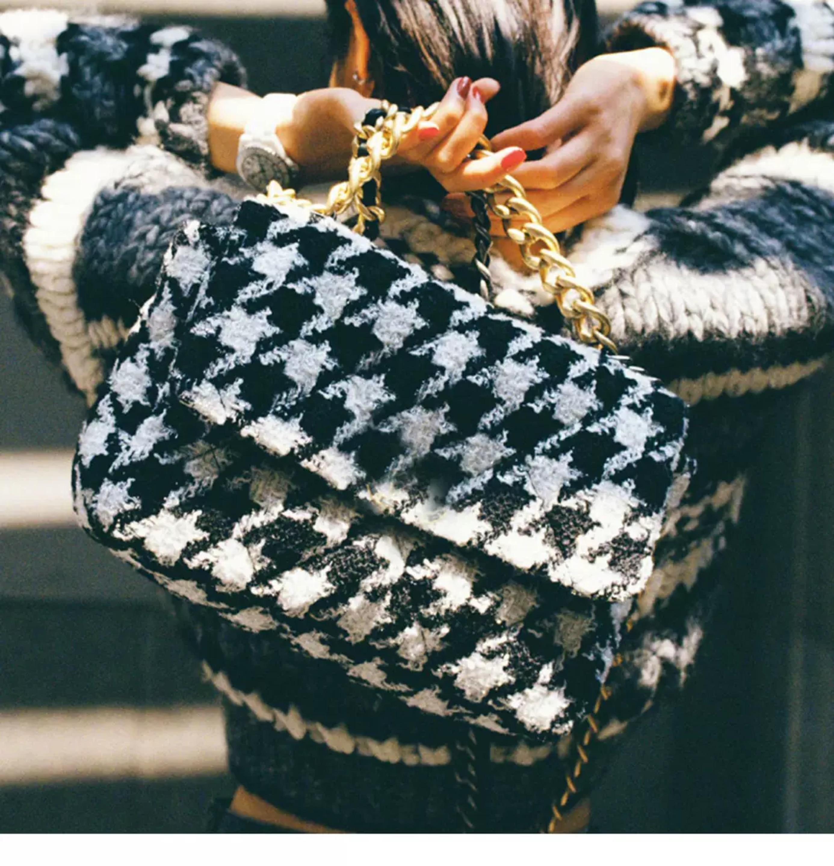 Nova moda feminina de lã aleta ombro