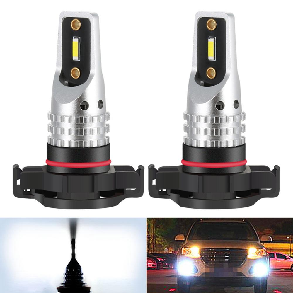 2x CANBUS Weiß H16 5202 PS19W PSY24W P21W Led-lampen Kein Fehler Für <font><b>AUDI</b></font> <font><b>A3</b></font> <font><b>8P</b></font> Sportback LED <font><b>DRL</b></font> tagfahrlicht 2003-2013 image