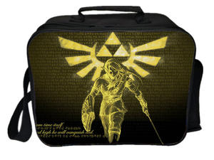 Lunch-Bag Ice-Cooler-Bag Ice-Pack Thermal-Insulated-Bag Picnic of Zelda with Camping