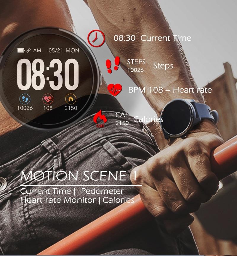 cardíaca esporte inteligente relógio de fitness activin rastreador pulseira