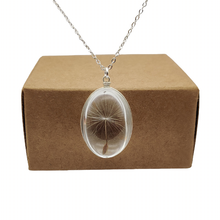Ожерелье с подвеской в виде цветов одуванчика ожерелье из стерлингового