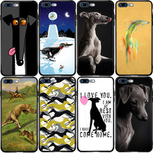Galgo Anjing Greyhound Cover untuk Huawei Honor Mate 10 20 30 P10 P20 P30 P40 P Smart Z Lite y5 Y6 Y7 Y9 Nova PRO PLUS(China)