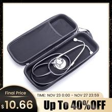 Professionelle Arzt Stethoskop Kardiologie Medizinische Stethoskop Dual Head Stethoskop Medizinische Ausrüstung Tasche Fall