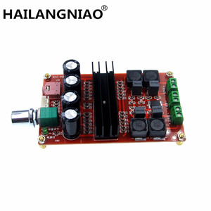 Image 1 - جديد XH M190 أنبوب الصوت الرقمي مجلس TDA3116D2 قوة الصوت أمبير 2.0 فئة D ستيريو HIFI مكبر للصوت DC12 24V 2*100 واط