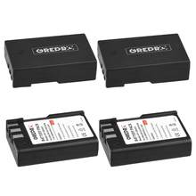 4 шт. 2000 мАч EN-EL9 EN-EL9A батарея для Nikon D40, D40X, D60, D3000, D5000, D3X, EN EL9 EL9A, ENEL9