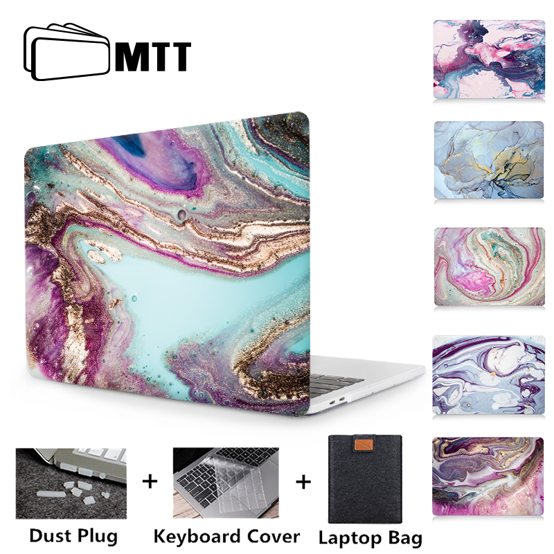 MTT Case For Macbook Pro 13 15 With Touch Bar Marble Hard Cover For Mac Book Air Pro Retina 11 12 13 15 Inch Funda Laptop Case
