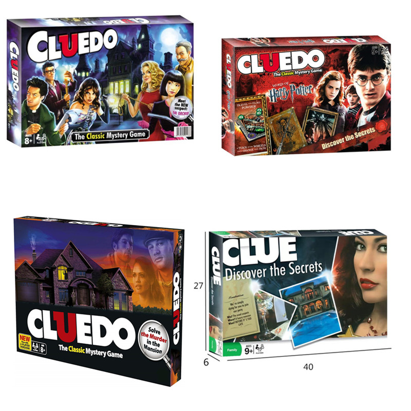 Cluedo Suspect Discover The Secrets Classic Board Game English Version Instructions Detective Game For Family Party Multiplayer