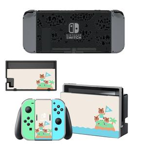 Image 5 - Vinyl Screen Skin Animal Crossing Protector Stickers for Nintendo Switch NS Console + Joy con Controller + Stand Holder Skins