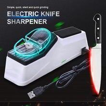 Электрическая точилка для ножей с usb регулируемая кухонных