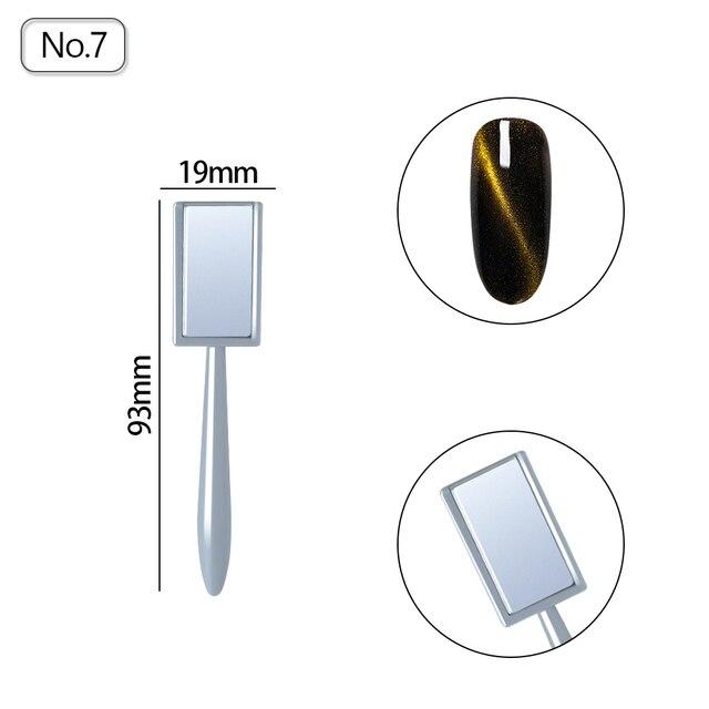 Cat Eye Magnet Nail Art Magnet Stick for Nail Gel Polish 3D Line Strip Effect Strong Magnetic Pen Tools for Gel Varnish 1