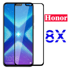 Original Protective Glass For Huawei Honor 8x Screen Protector Case On Huawey honer Honor8x 8 X X8 Tempered Glas full cover film(China)
